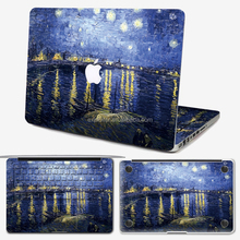 Removable decoration laptop sticker for macbook pro 15.4inch decal