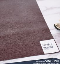 New coming super quality brown leather for headrest cover sofa