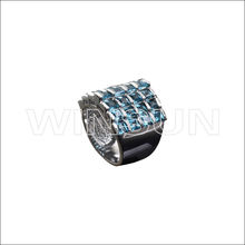 big metal ring ,stone sale for imitation jewel diamond ring