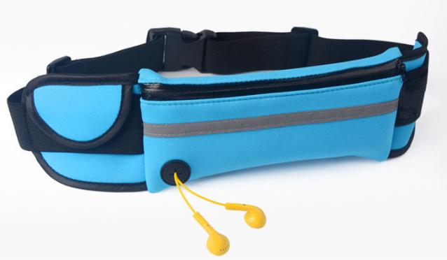 Promotion oem outdoor phone fanny pack sport running custom waist bag