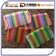Stylish Soft Cheap Colorful Mesh Plastic Pencil Case With Zipper