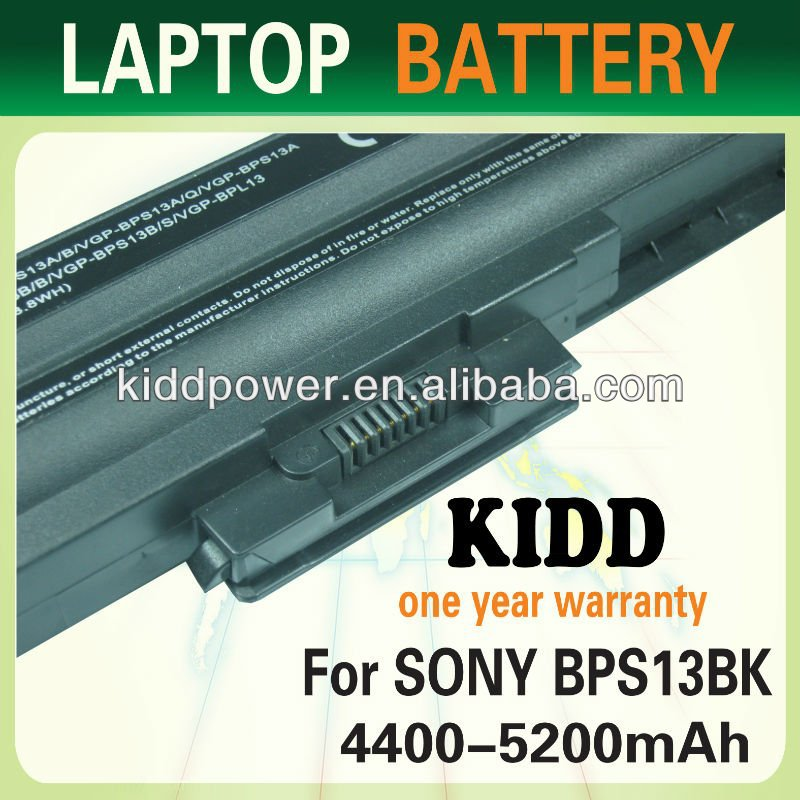 FOR Sony VAIO VGP-BPS13A/B | VGN-TX | VPC Series 6-Cell Battery Brand New (Black)