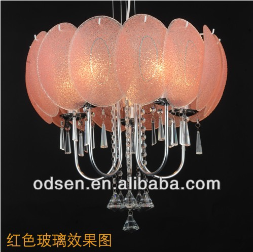 oriental metal+ glass chandelier pendant lamp