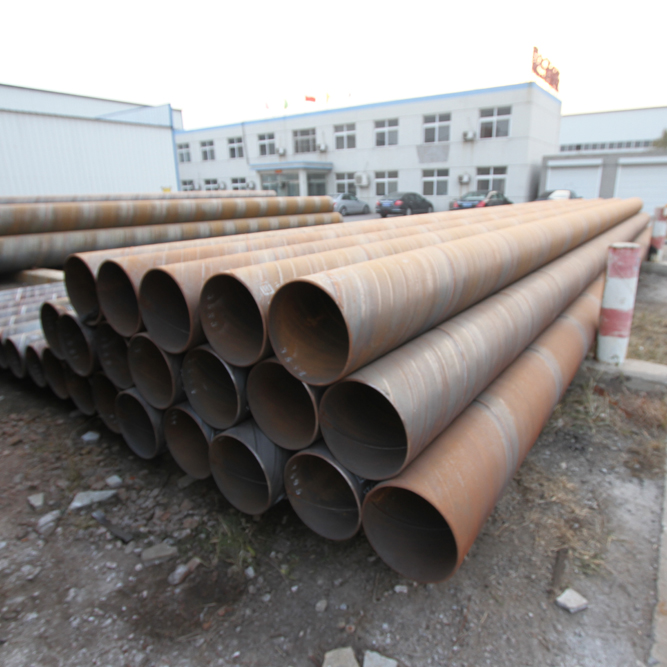 SSAW Spiral Steel Pipe / Tube Oil And Gas Pipeline /Large Diameter Steel Pipe For Sale