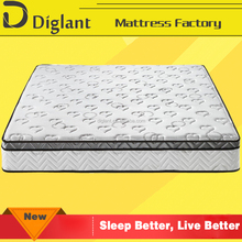 used 7-zone pocket elegant soft compressed box spring mattress