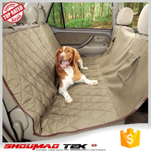 cheap luxury 100% poly travel pet car seat cover