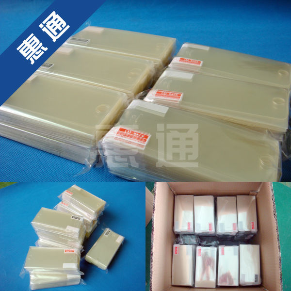 OEM factory supply!HTC Windows phone 8s screen protector ,hot sell !