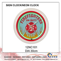 Wall decoration Neon clock/LED clock 12NC101