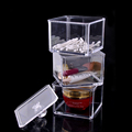2016 New Design Clear Acrylic Storage Holder Box Cosmetic Makeup Case