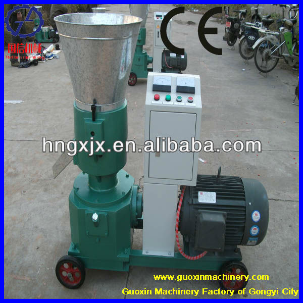 Low cost energy-saving wood pellet machine for fuel