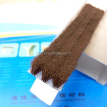 Flexible strip brush for aluminum profile and furniture