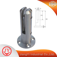 Top Grade Stainless Steel Glass Spigot Pool Fence Post Bracket