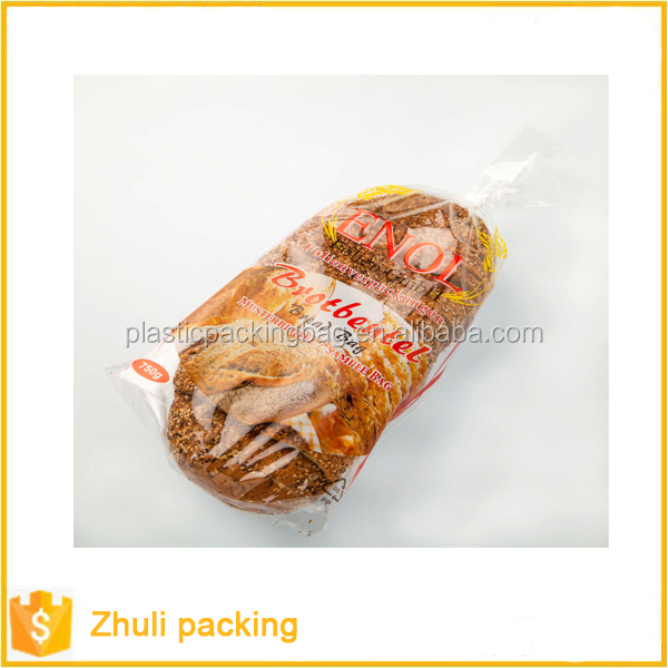manufacturer wholesales OPP glass bag clear bread BOPP bag