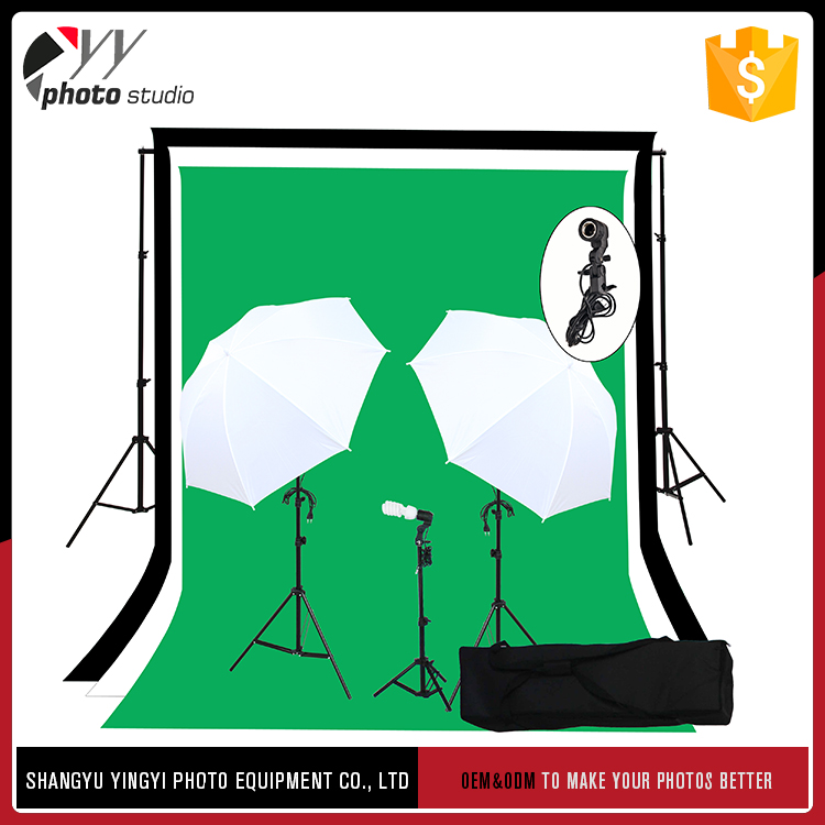 Professional Snow White Soft Umbrella Kit Photography Equipment
