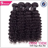 "wholesale price 24"" 26"" 28"" 3pcs/set deep wave brazilian human hair extension"