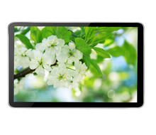 "18.5"" wall mount display led advertising tft photo frame android tv player in store advertising screens video loop"