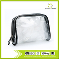 PVC Transparent Cosmetic Tote Bag Toiletry Organizer Handbags