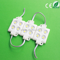 IP68 High Quality Blue 4leds SMD5050 Injection Waterproof Led Module (CE&RoHS Compliant)