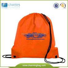 Promotional cheap Nylon mesh drawstring bags