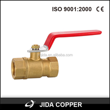 Ce Approved Forged Brass Ball Valve For Water And Gas