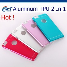 New china products aluminum TPU 2 in 1 color change back cover for iphone 5c