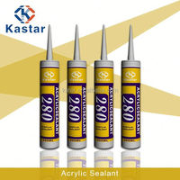 acrylic plastic liquid adhesive caulking glue 100%flexible