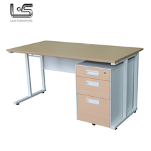 2017 Modern Furniture t shaped 2 person office desk with cheap price