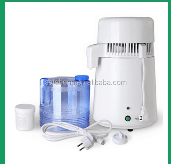 4L Water Distiller with Glass Household Water Distiller Home Water Distiller