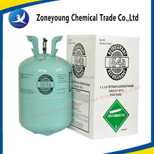 Refrigerant gas R134a used for air condition and refrigeration spare parts