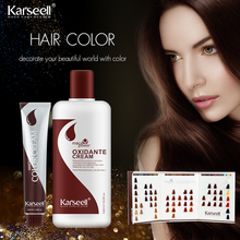 SVprofessional newest ,hot selling multi-color hair dye swatch hair dye color chart swatch manufacture for salon OEM