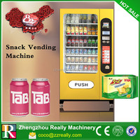 Spiral Vending Machine for Snack/Chip/Chocolate/Can/Bottle Drink Vending