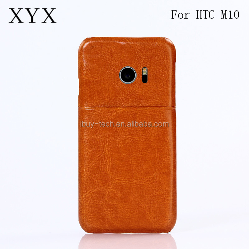 Novelty leather back cover PC case for htc one <strong>m10</strong> from china factory