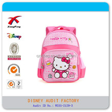 Funky girls child school bag hello kitty backpack