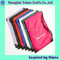 Nylon drawstring shoe bag shoes pouches for travel&home storage