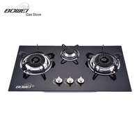 Built-in Gas Cooker/Tempered Glass Gas Hob