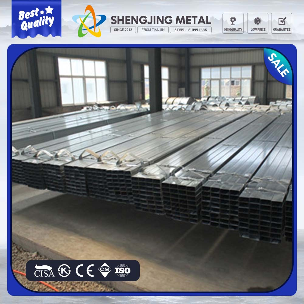 black steel pipes ! en10025 square steel tube schedule 40 square and rectangular steel pipe