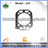 Diesel generators prices high quality L24 metal cylinder engine head gasket