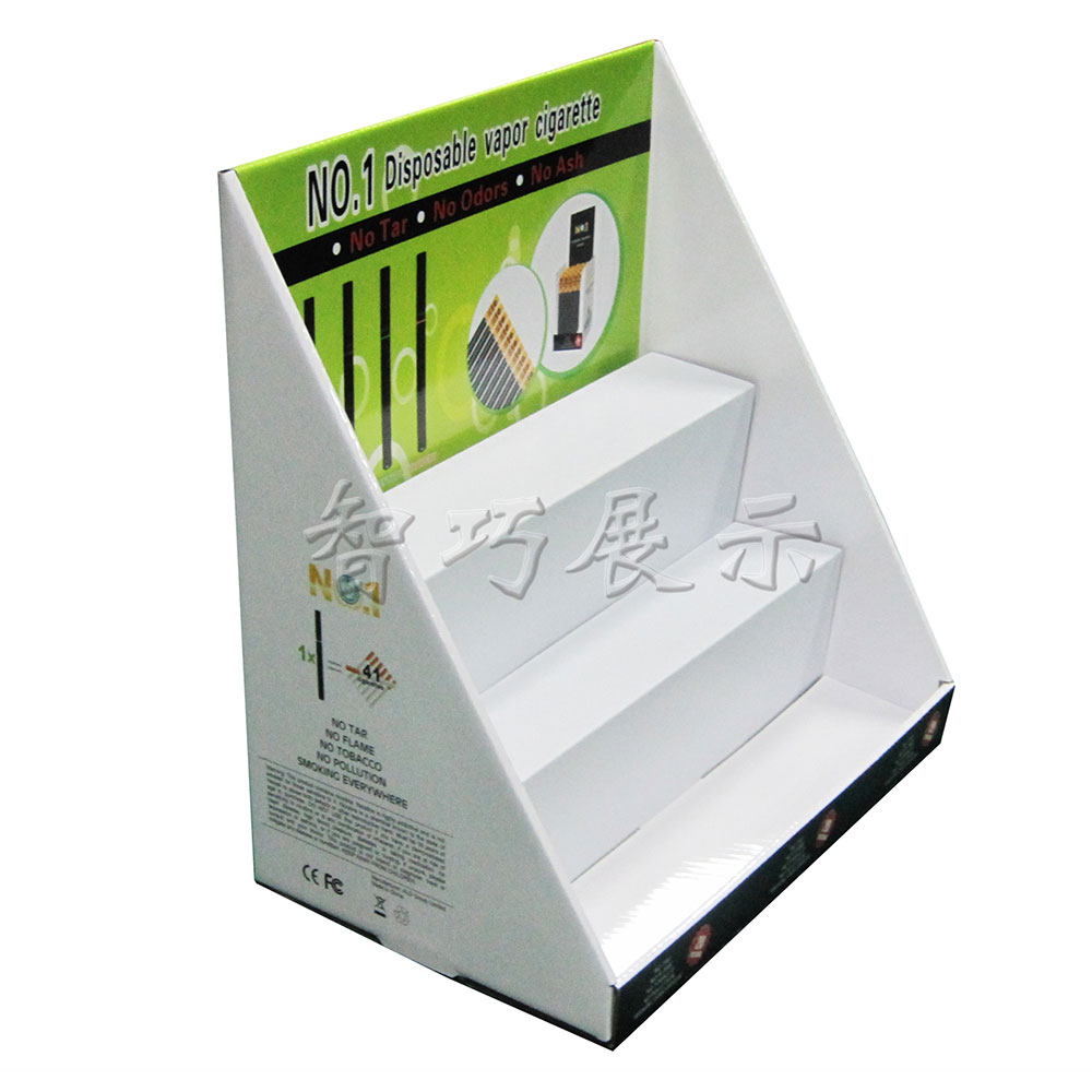 PDQ Custom Display stand.Paper Show shelf.Cardboard display stand