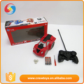 Best gift for boy blue and red plastic transform robot powerful rc car
