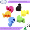 Cute Creative Desktop Elephant Multiple Silicone Mobile Phone Holder