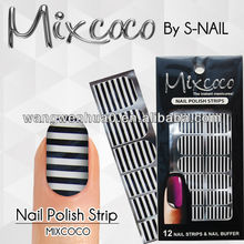2015 hot sale most welcome 100% real nail polish strips