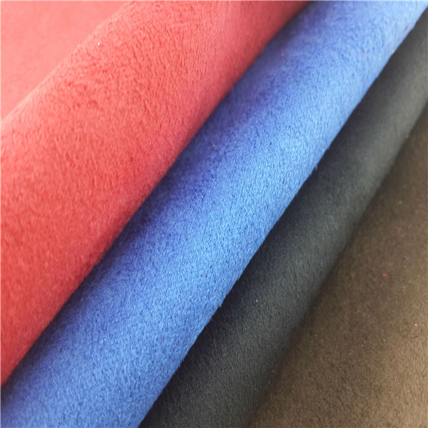 Hot suede fabric shoes materials