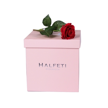 Hot selling paper luxury rose boxes rectangle packaging flower gift box