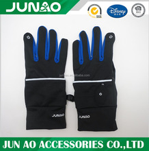 Magic sports gloves with LED light