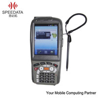 portable handheld pda with wireless laser barcode scanner nfc reader android pos