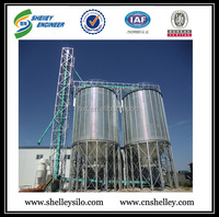 China high quality grain steel silo for corn wheat paddy rice storage