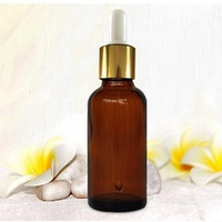 2 ml amber Dropper Glass Essential Oil Bottle