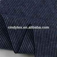 32*32 drapery soft yarn dyed plaid 100% cotton navy blue stripe fabric