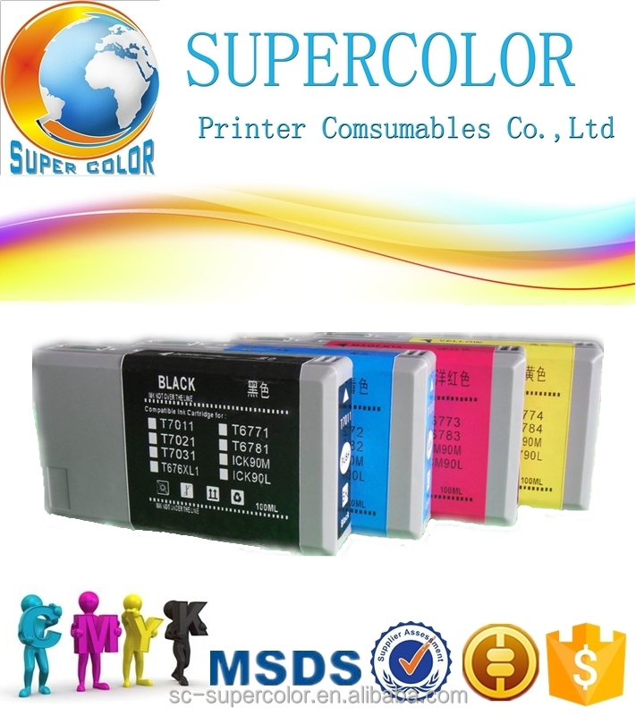 g & g ink cartridge for Epson WP4015DN printer