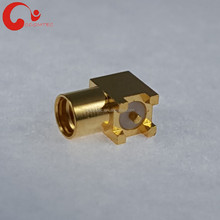 MMCX Jack Connector for Solder Right Angle Surface Mount PCB